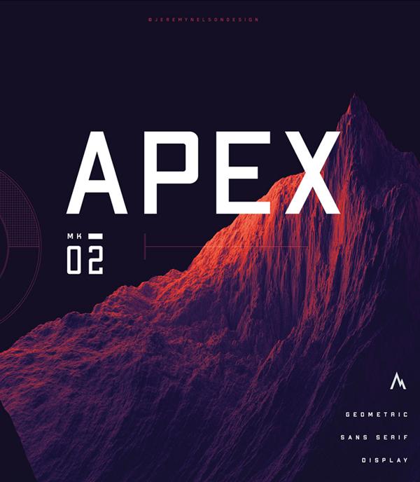 APEX Mk2 Free Font