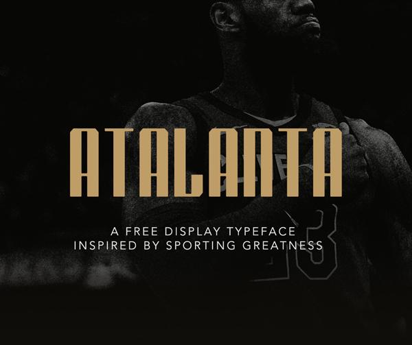 Atalanta Free Font