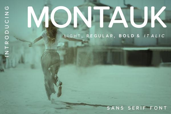 Montauk Free Font