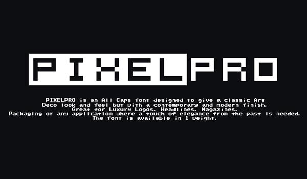 Pixel Pro Free Font