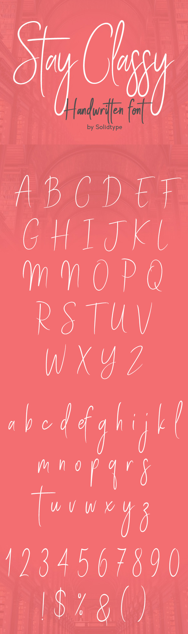 Stay Classy  Free Script Font