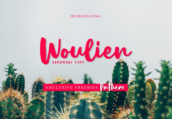 Woulien Script Free Font