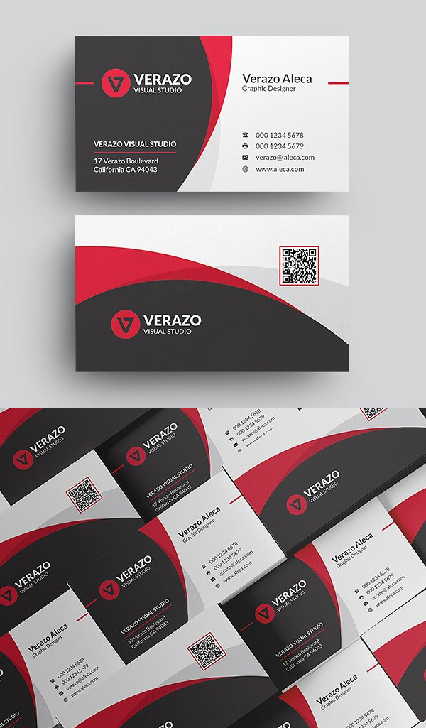 Clean & Modern Business Card