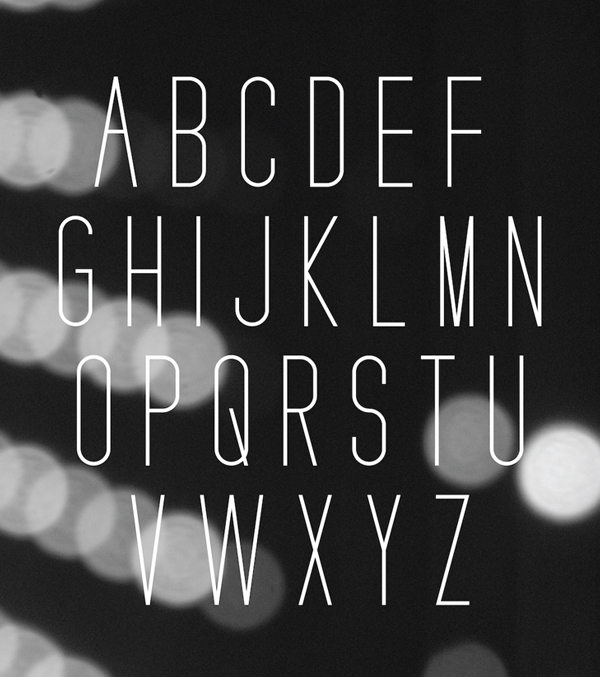 JS Sans Font Letters