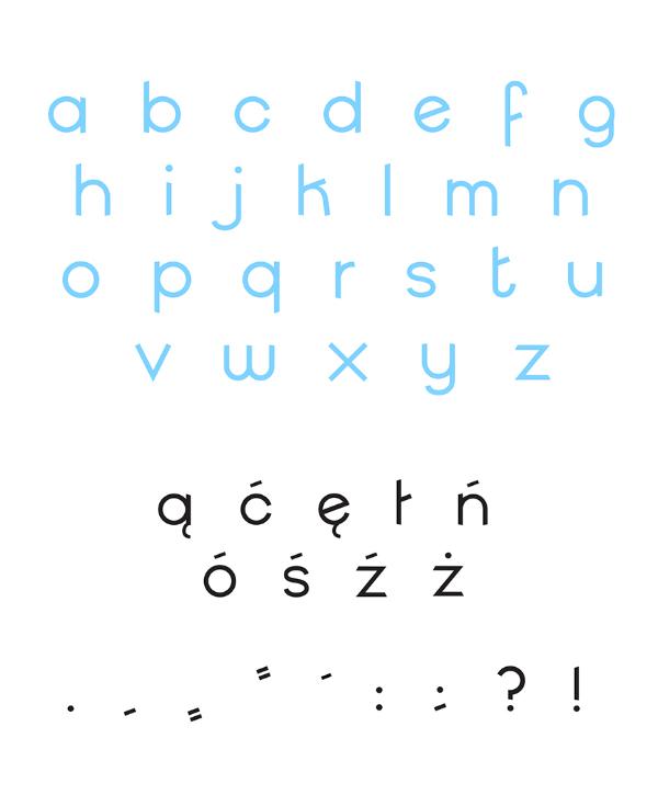 Jumpie Font Letters
