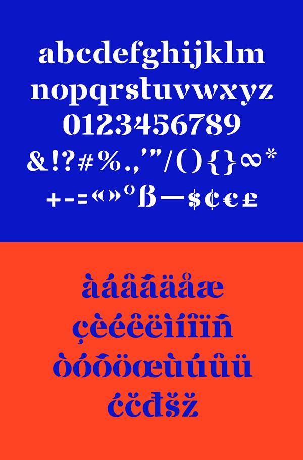Saint George Font Letters