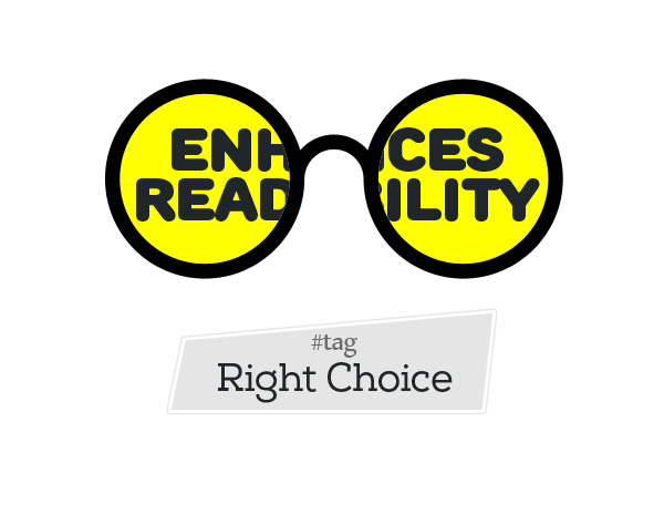 Enhances Readability