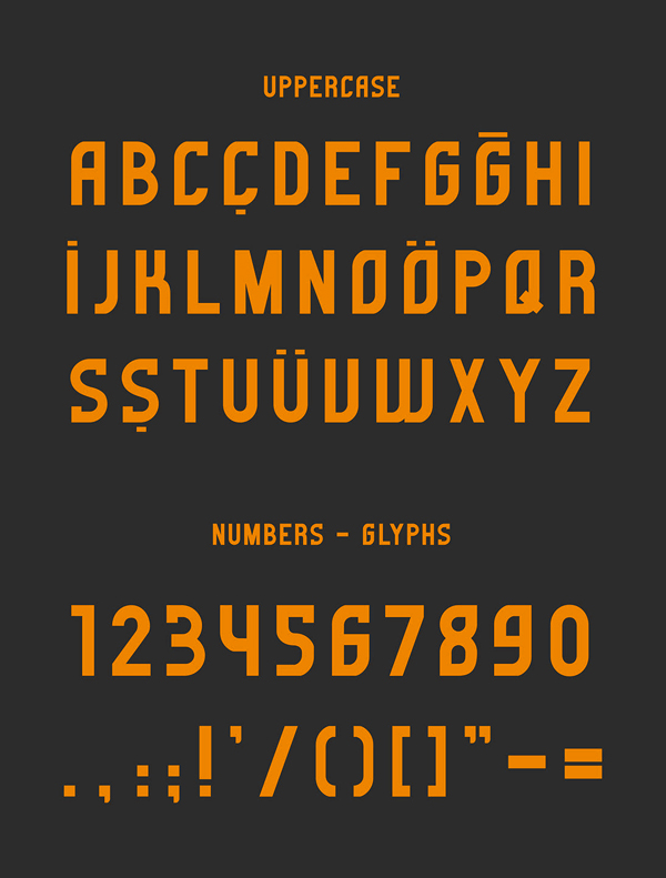Gorem Font Letters