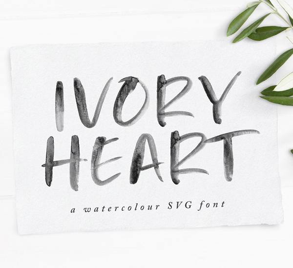 Ivory Heart Free Font
