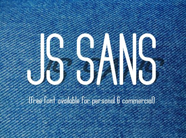 JS Sans Free Font