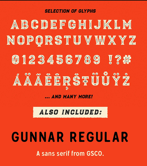 Luchador Font Letters