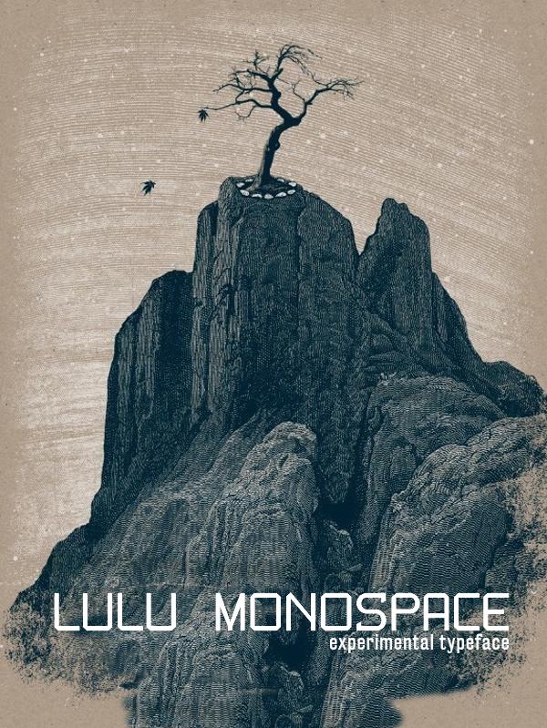 Lulu Monospace Free Font