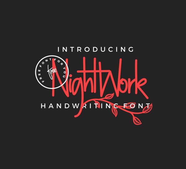 NightWork Free Font