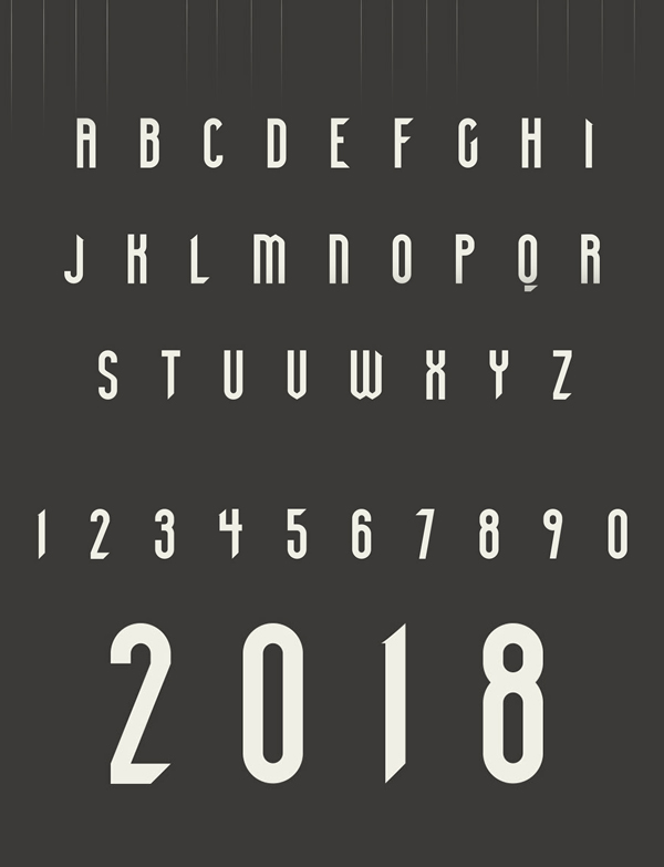 POGO Display Font Letters