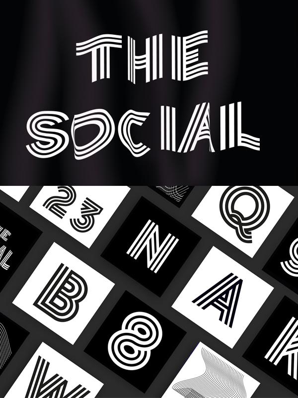 The Social Free Font