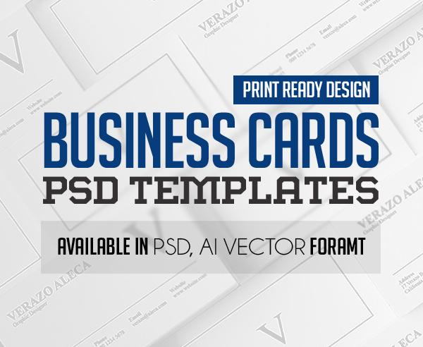 Modern Business Card PSD Templates (30 Print Ready Design)