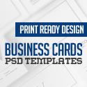 Post thumbnail of Modern Business Card PSD Templates (30 Print Ready Design)