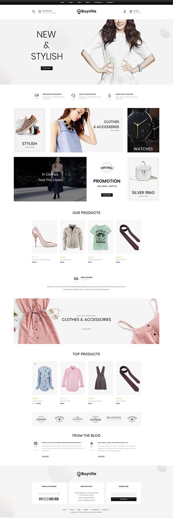 Buyvilla - Multipurpose WooCommerce Theme