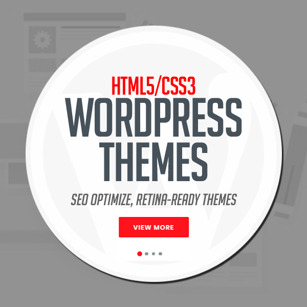 HTML5 CSS3 Responsive WordPress Themes