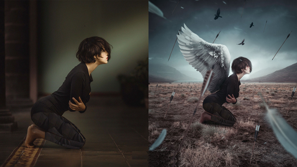 How to Create Emotional Sacrifice Artwork Manipulation Photoshop CC Tutorial