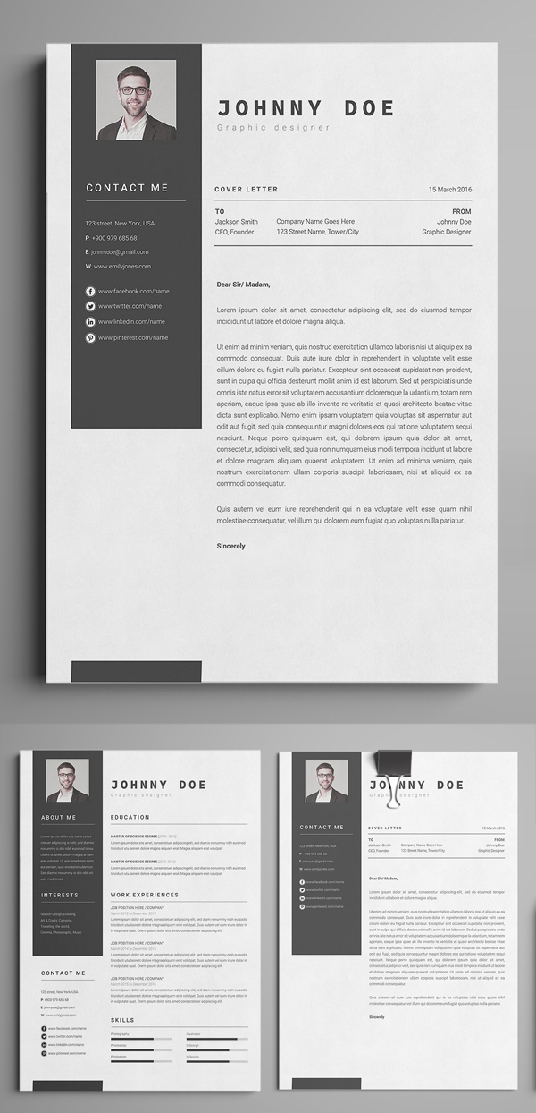 Office Simple CV - Resume Template