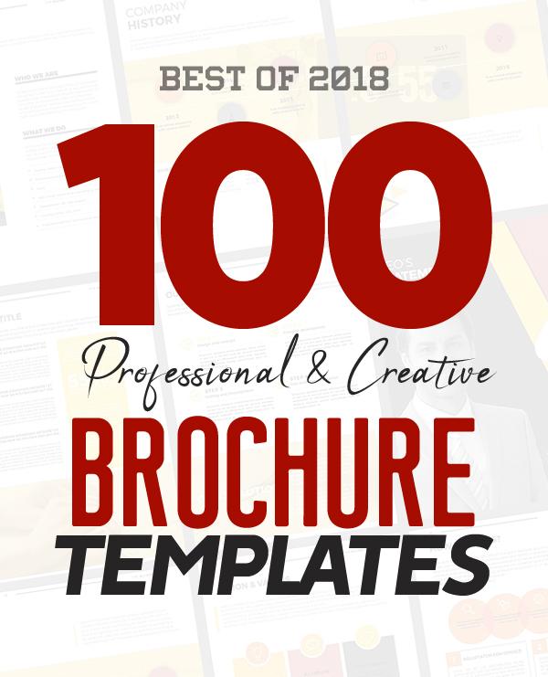 100 Professional Corporate Brochure Templates