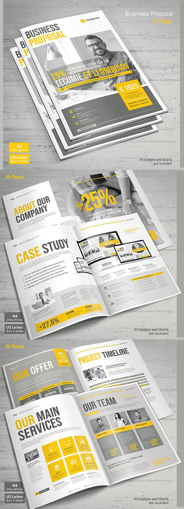 Professional Business Proposal Templates Design - 15