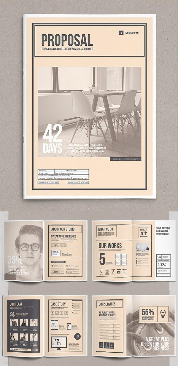 Professional Business Proposal Templates Design - 17