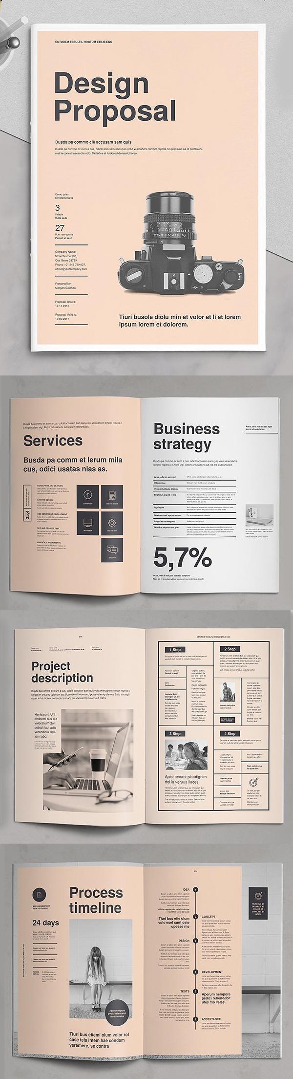 Professional Business Proposal Templates Design - 2