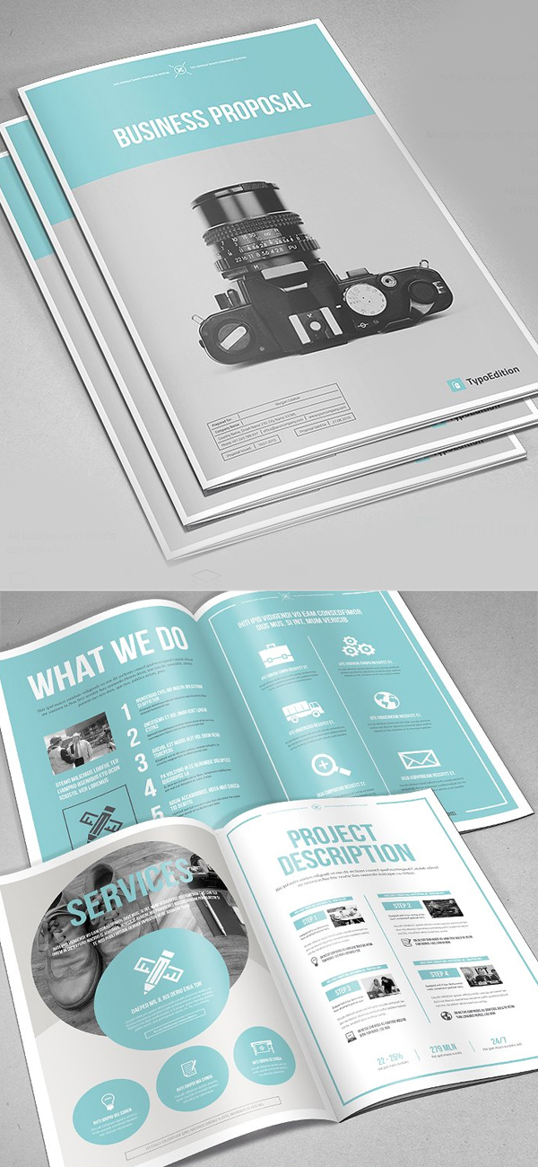 100 Professional Corporate Brochure Templates - 81