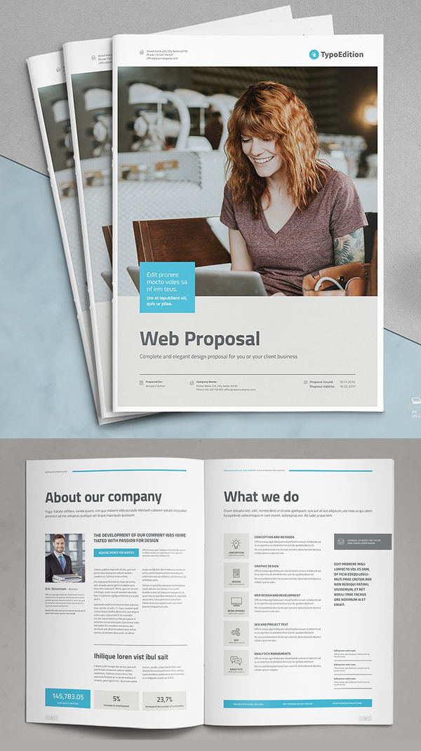 Professional Business Proposal Templates Design - 23