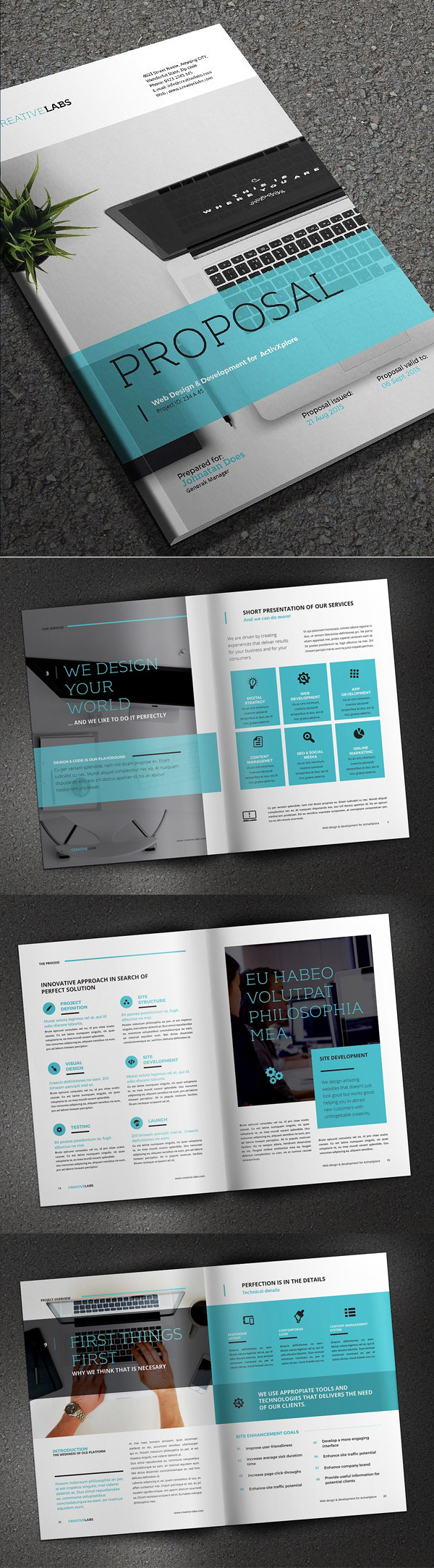 Professional Business Proposal Templates Design - 24