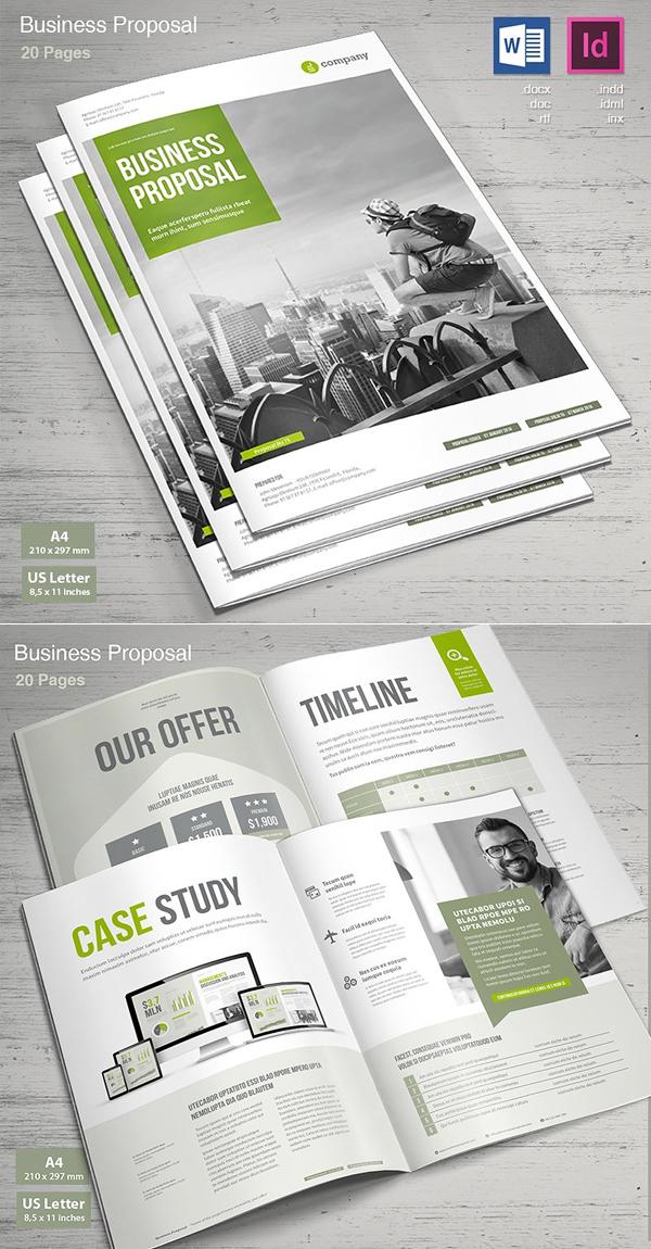 100 Professional Corporate Brochure Templates - 87