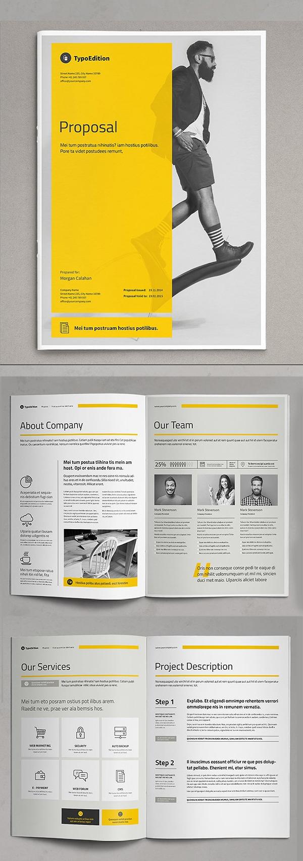 Professional Business Proposal Templates Design - 3