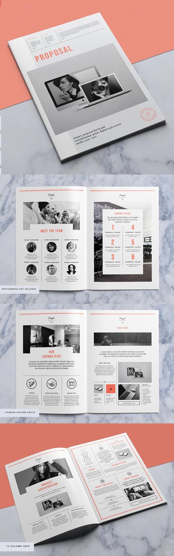 Professional Business Proposal Templates Design - 6