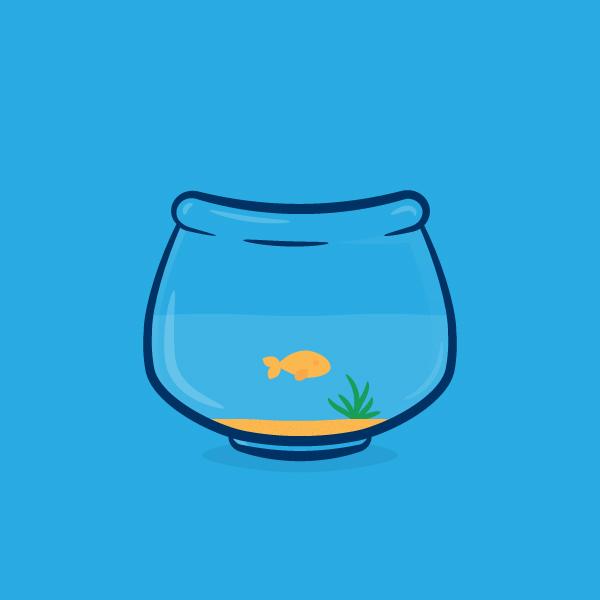 Create a Simple Fishbowl Illustration in Adobe Illustrator