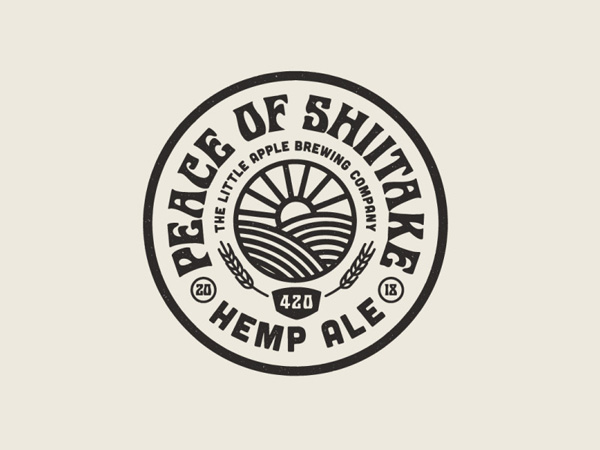 36 Great Concepts of Badge & Emblem Logo Designs - 14