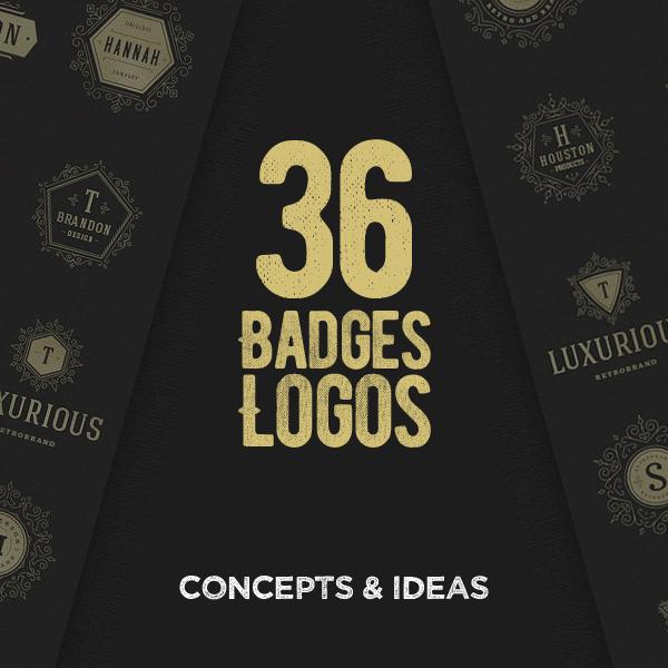 36 Great Concepts of Badges Logo Design
