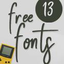 Post thumbnail of Fresh Free Fonts Download (13 Fonts)