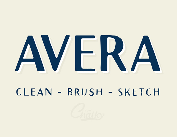 Avera Free Font