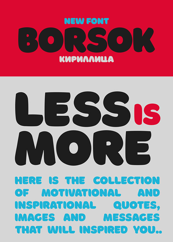 Borsok Free Font