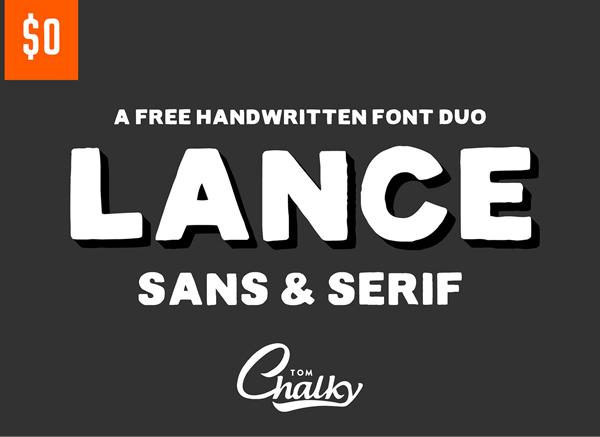 Lance Sans & Serif Free Font