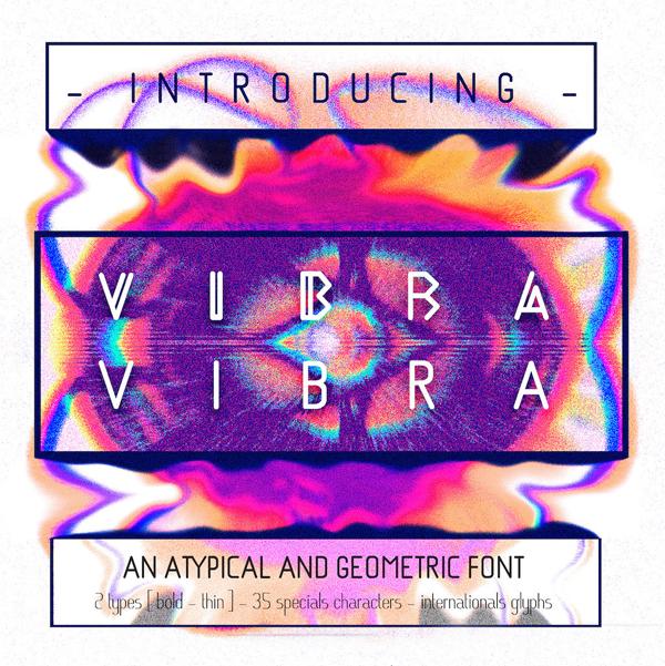 Vibra Type Free Font