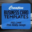 Post thumbnail of Creative Business Card PSD Templates (28 Print Ready Design)