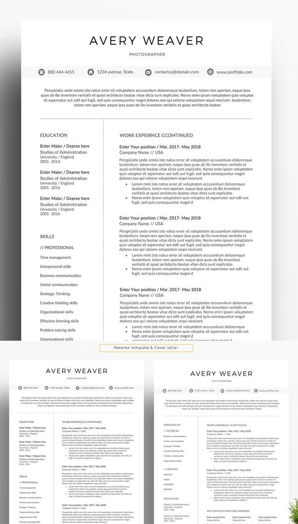 Professional Resume / Word Resume