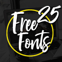 Post thumbnail of 25 Fresh Free Fonts