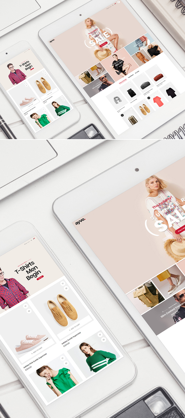 Free Smartphone With Tablet Mockup Psd