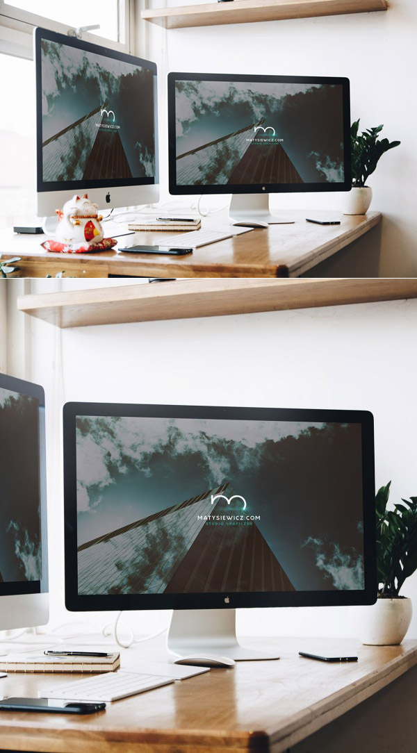 Free Mac Macbook Mockup Template