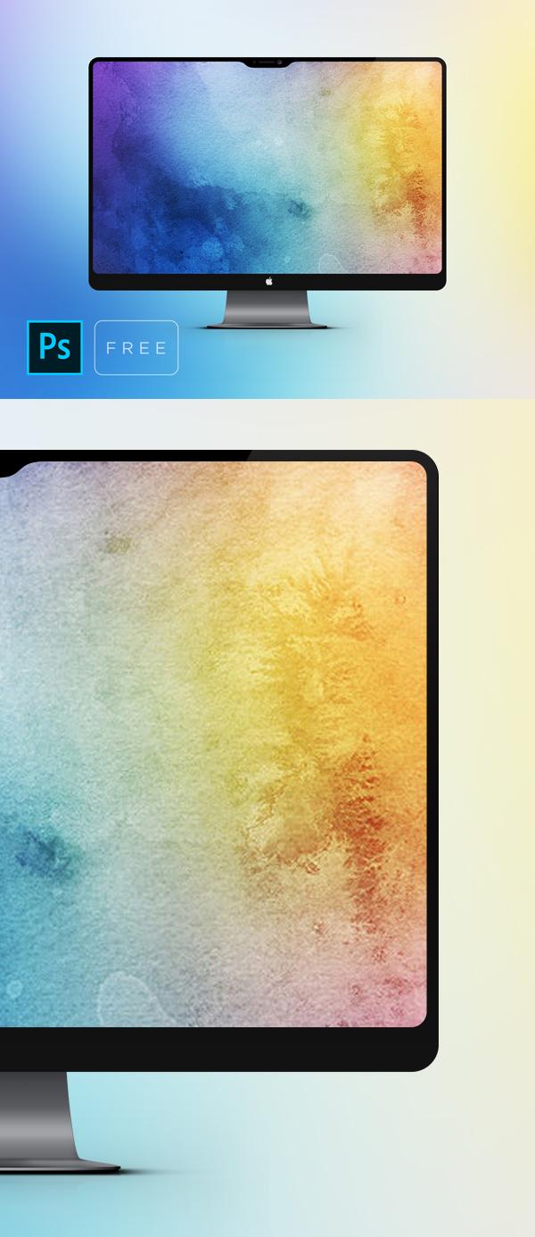 Free iMac Pro Free Mockup PSD
