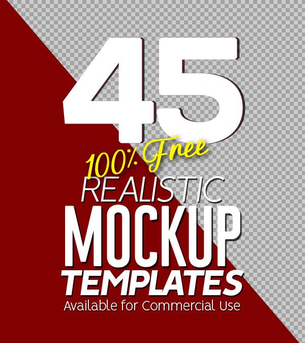 Post thumbnail of Fresh Free PSD Mockup Templates (45 Mock-ups)